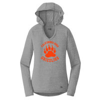 Cal High Paw - ® Ladies Tri Blend Performance Pullover Hoodie Tee Thumbnail
