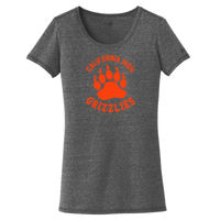 Cal High Paw - ® Ladies Tri Blend Performance Scoop Tee Thumbnail
