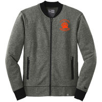 Cal High Paw Embroidered - ® French Terry Baseball Full Zip Thumbnail
