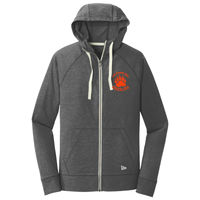 Cal High Paw Embroidered - ® Sueded Cotton Full Zip Hoodie Thumbnail