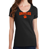 Grizzly - Ladies Fan Favorite V Neck Tee Thumbnail